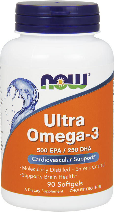 NOW Foods Ultra Omega-3 - 90 Softgels