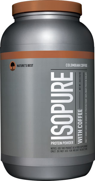 Nature's Best Isopure Coffee - 3lbs Colombian