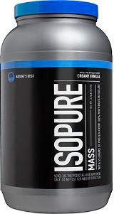 Nature's Best Isopure Mass - 3.25lbs Creamy Vanilla