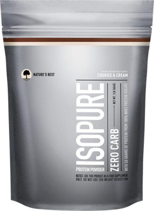 Nature's Best Isopure Zero Carb Protein - 1lb Cookies & Cream