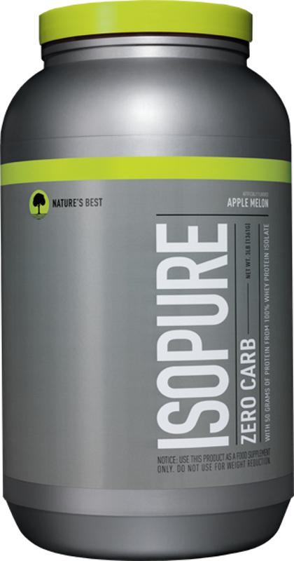 Nature's Best Isopure Zero Carb Protein - 3lbs Apple Melon