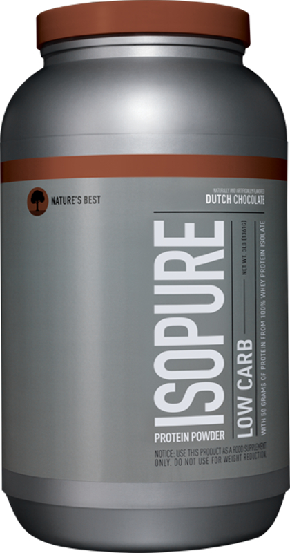 Nature's Best Isopure Zero Carb Protein - 3lbs Low Carb Dutch Chocolat