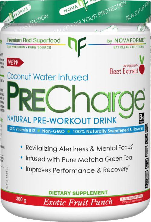 Novaforme PreCharge - 30 Servings Exotic Fruit Punch