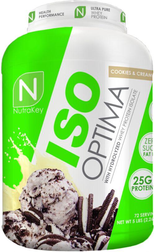 NutraKey ISO Optima - 5lbs Cookies & Cream