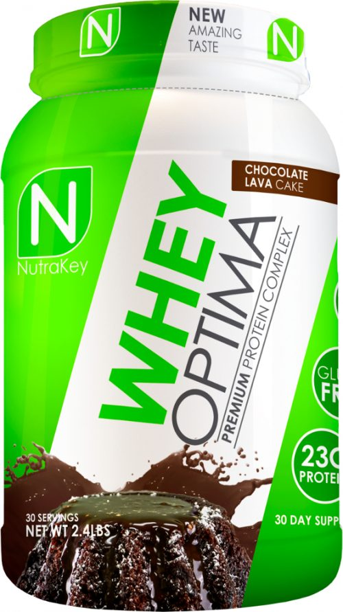 NutraKey Whey Optima - 2lbs Chocolate Lava Cake