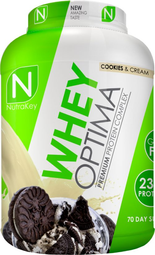 NutraKey Whey Optima - 5lbs Cookies & Cream