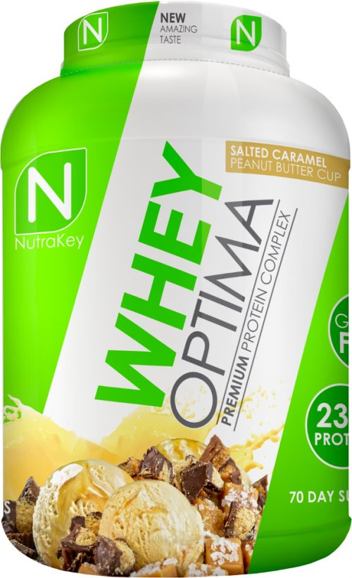 NutraKey Whey Optima - 5lbs Salted Caramel Peanut Butter Cup