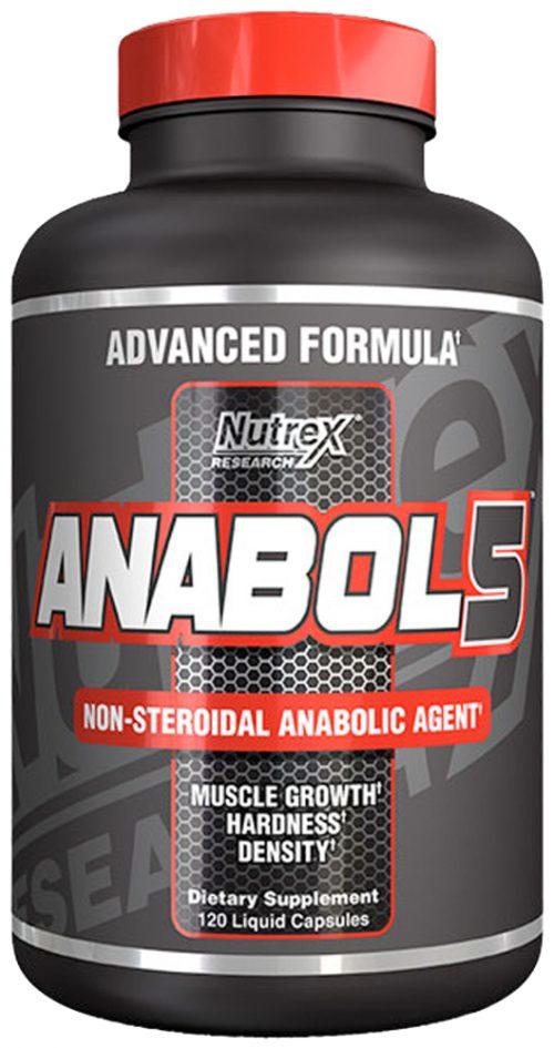 Nutrex Anabol-5 - 120 Liquid Capsules
