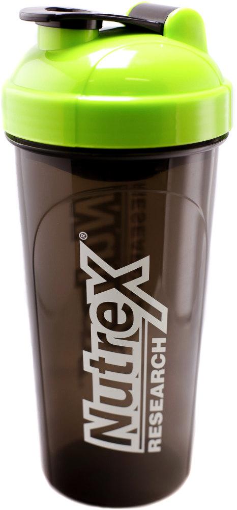 Nutrex Leak-Proof Shaker - 25 oz Bottle Green/Black