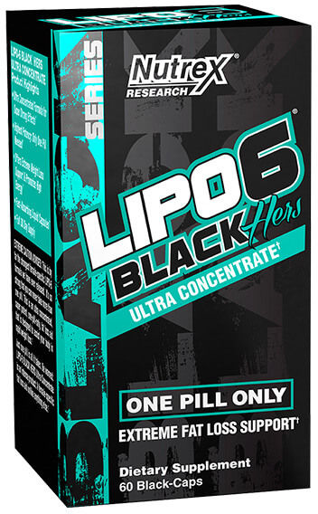 Nutrex Lipo-6 Black Hers Ultra Concentrate - 60 Capsules