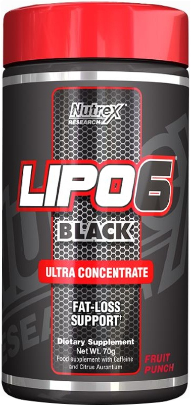 Nutrex Lipo-6 Black Ultra Concentrate - 10 Capsules
