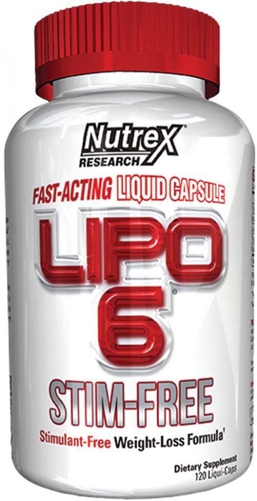 Nutrex Lipo-6 Stim-Free - 120 Liquid Capsules