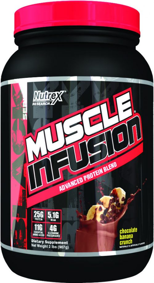 Nutrex Muscle Infusion Black Series - 2lbs Chocolate Banana Crunch
