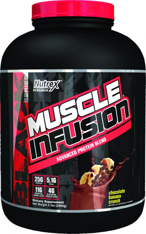Nutrex Muscle Infusion Black Series - 5lbs Chocolate Banana Crunch