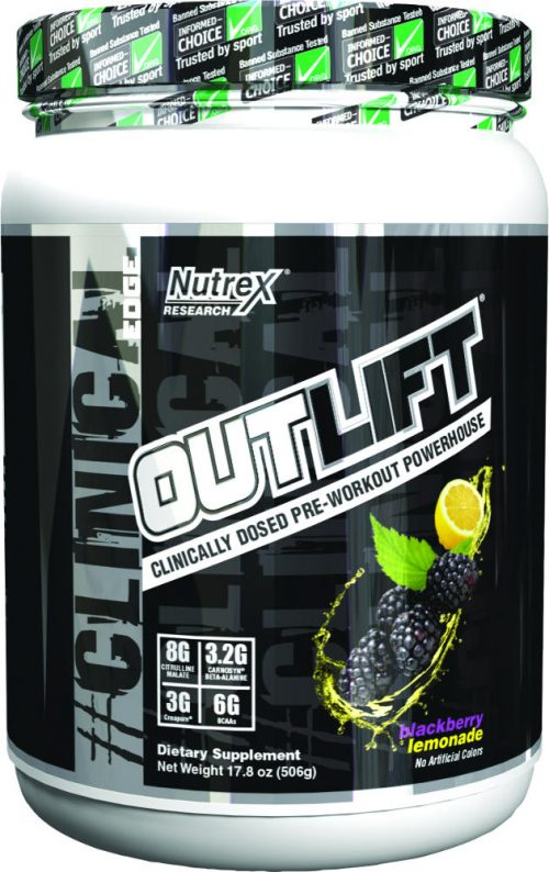 Nutrex Outlift - 20 Servings Blackberry Lemonade