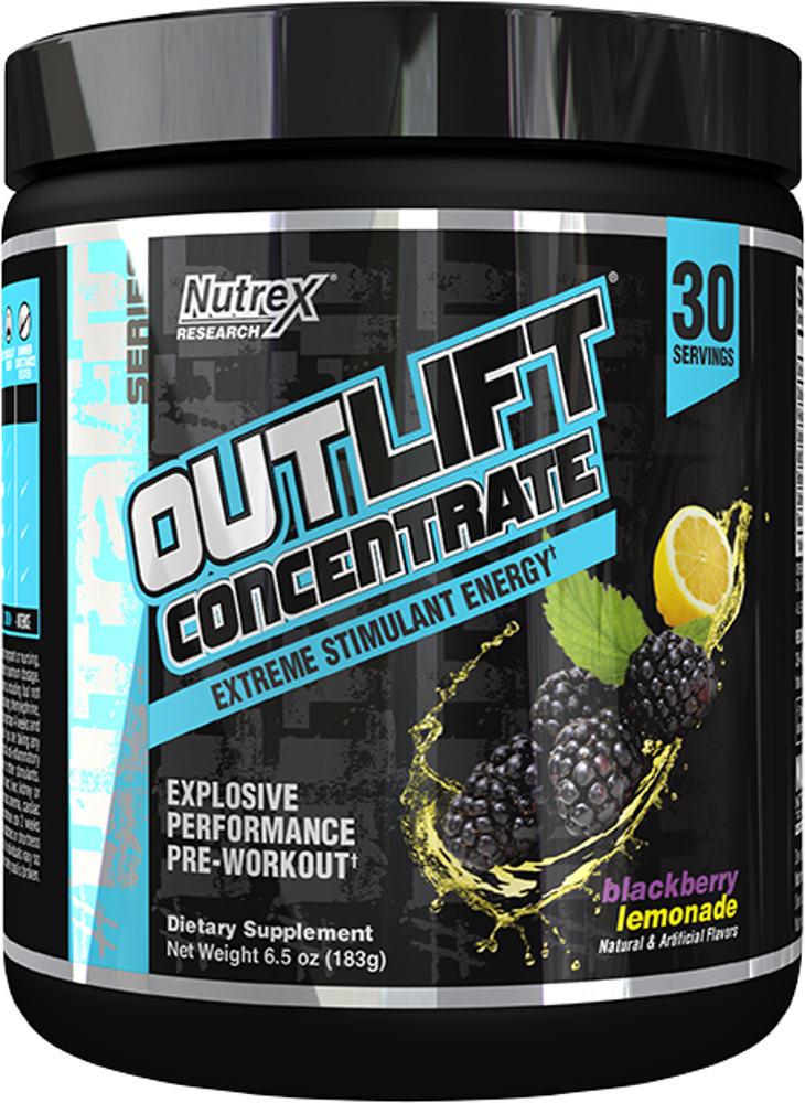 Nutrex Outlift Concentrate - 30 Servings Blackberry Lemonade