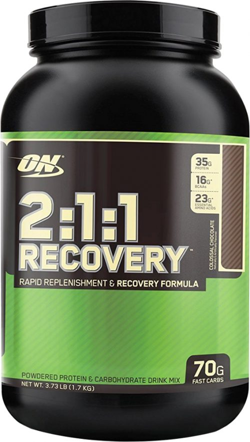 Optimum Nutrition 2:1:1 Recovery - 3.73lbs Colossal Chocolate