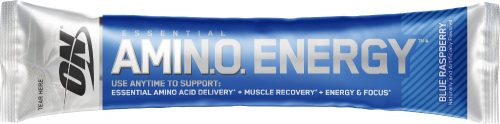 Optimum Nutrition Amino Energy - 1 Stick Pack Blue Raspberry