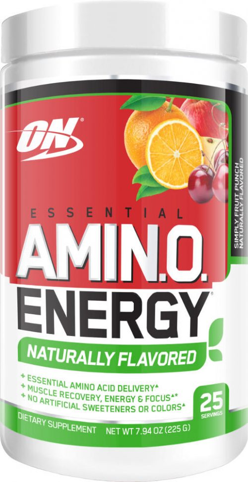 Optimum Nutrition Amino Energy - 25 Servings - Naturally Flavored Frui