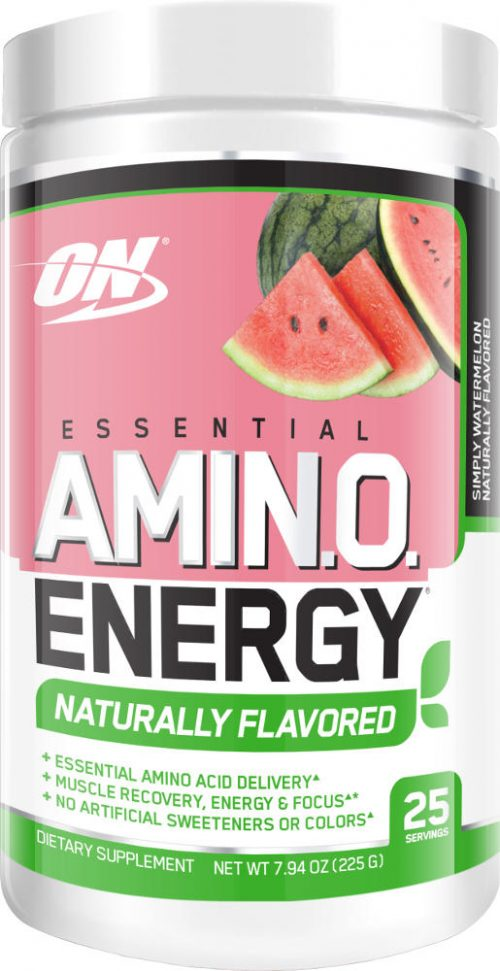 Optimum Nutrition Amino Energy - 25 Servings - Naturally Flavored Wate