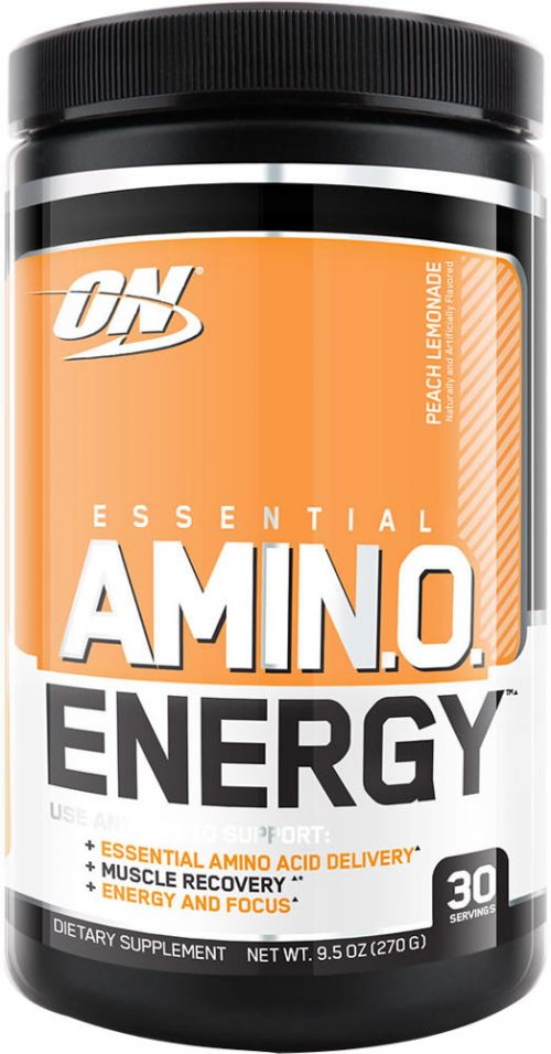 Optimum Nutrition Amino Energy - 30 Servings Caramel Macchiato