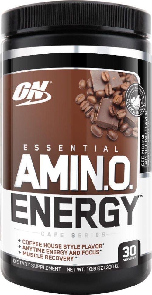 Optimum Nutrition Amino Energy - 30 Servings Iced Mocha Cappuccino