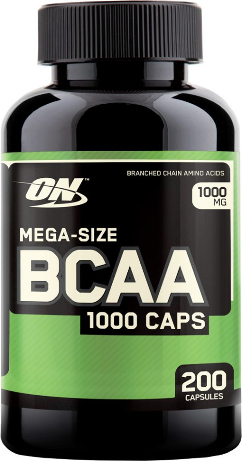 Optimum Nutrition BCAA 1000 Caps - 200 Capsules