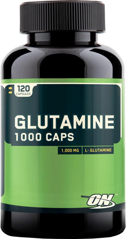 Optimum Nutrition Glutamine 1000 Capsules - 120 Capsules