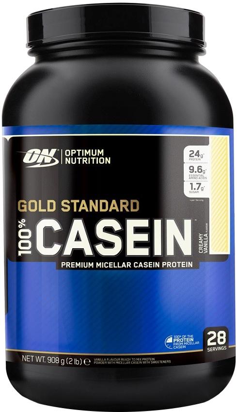 Optimum Nutrition Gold Standard 100% Casein - 2lbs Creamy Vanilla