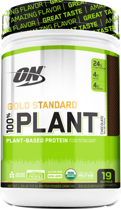 Optimum Nutrition Gold Standard 100% Plant Protein - 19 Servings Choco