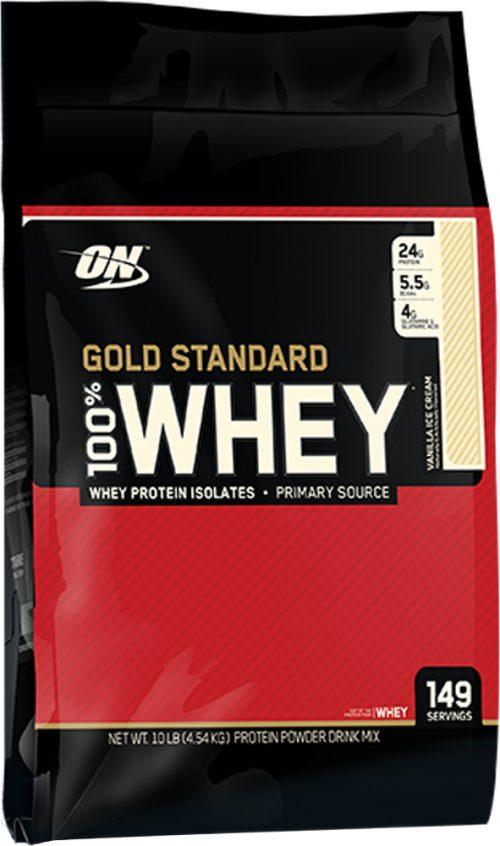 Optimum Nutrition Gold Standard 100% Whey - 10lbs Vanilla Ice Cream