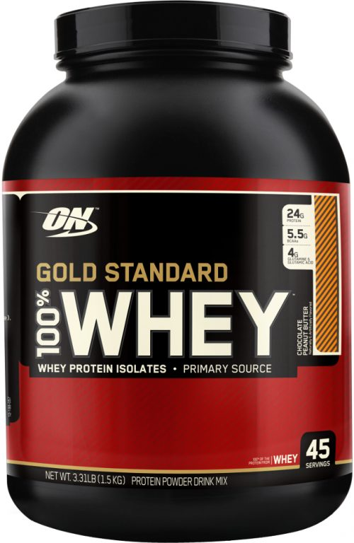 Optimum Nutrition Gold Standard 100% Whey - 3.3lbs Chocolate Peanut Bu