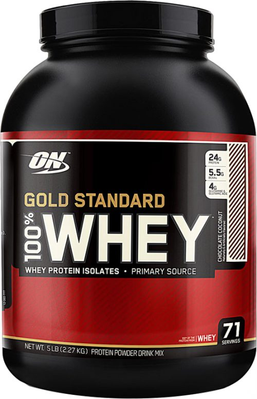 Optimum Nutrition Gold Standard 100% Whey - 5lbs Chocolate Coconut
