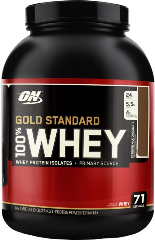 Optimum Nutrition Gold Standard 100% Whey - 5lbs Extreme Milk Chocolat