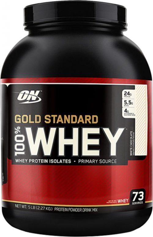 Optimum Nutrition Gold Standard 100% Whey - 5lbs White Chocolate