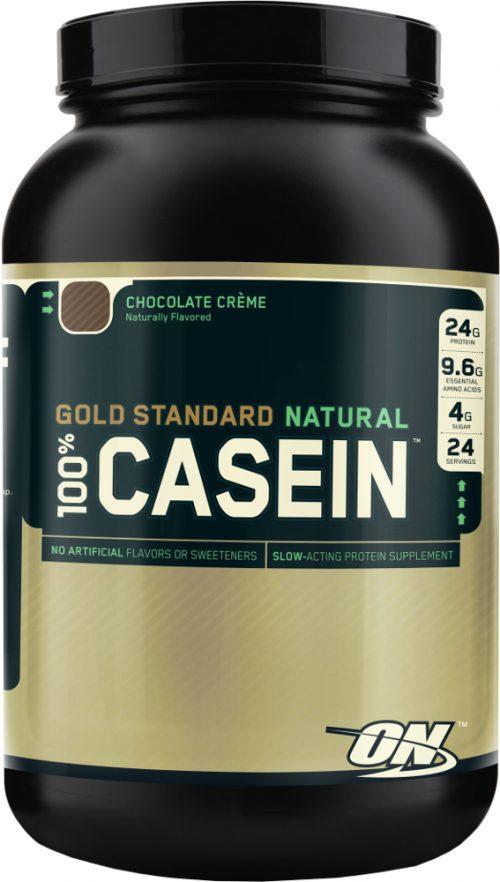 Optimum Nutrition Gold Standard Natural 100% Casein - 2lbs Chocolate C