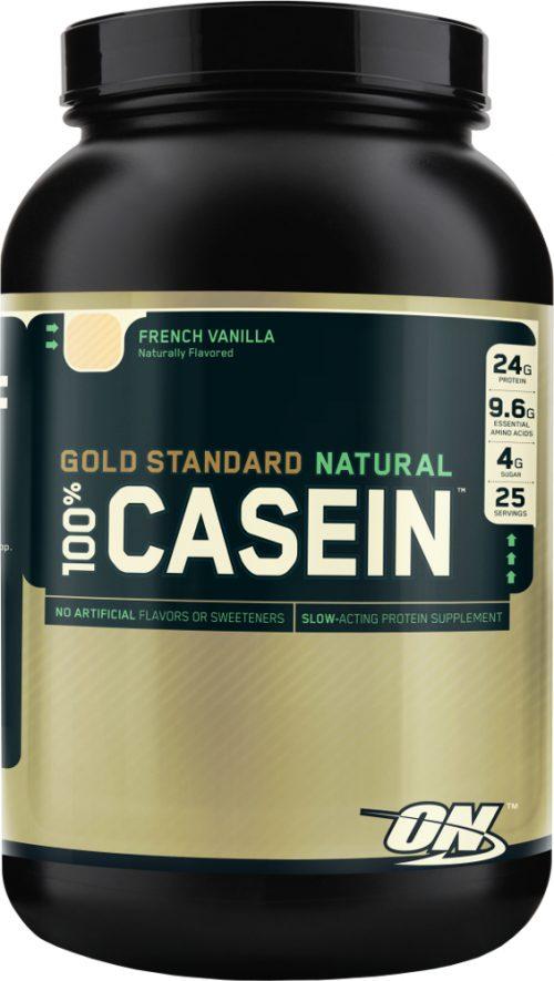 Optimum Nutrition Gold Standard Natural 100% Casein - 2lbs French Vani