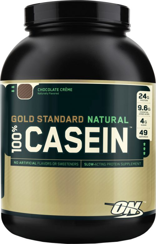 Optimum Nutrition Gold Standard Natural 100% Casein - 4lbs Chocolate C