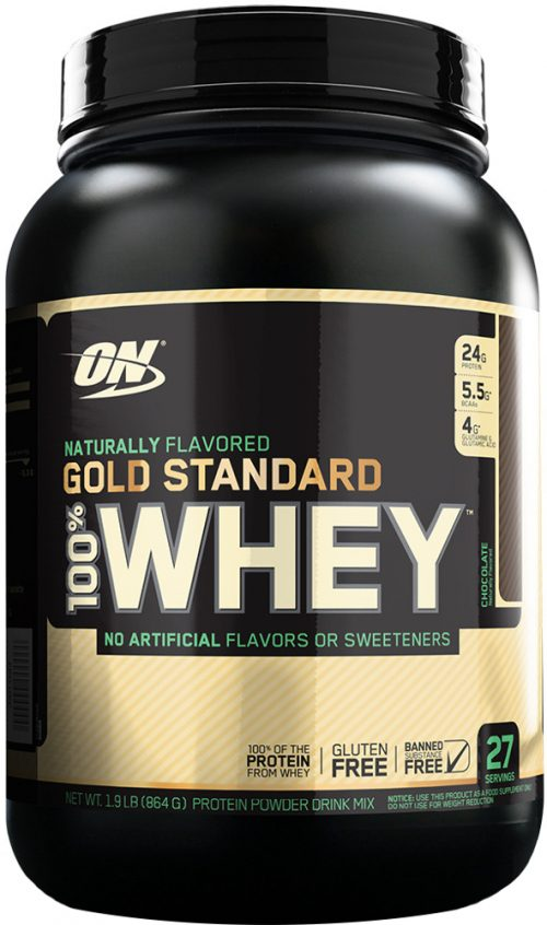 Optimum Nutrition Gold Standard Natural 100% Whey - 1.9lbs Natural Cho