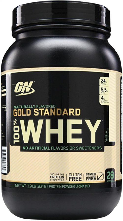 Optimum Nutrition Gold Standard Natural 100% Whey - 1.9lbs Natural Van