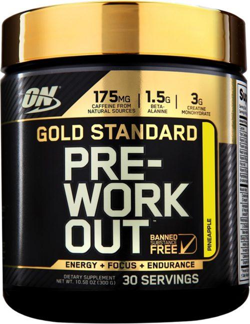 Optimum Nutrition Gold Standard Pre-Workout - 30 Servings Pineapple