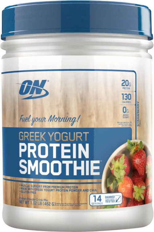 Optimum Nutrition Greek Yogurt Protein Smoothie - 14 Servings Strawber