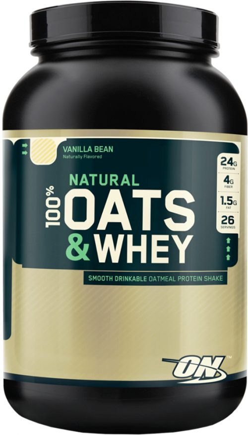 Optimum Nutrition Natural 100% Oats & Whey - 3lbs Vanilla Bean
