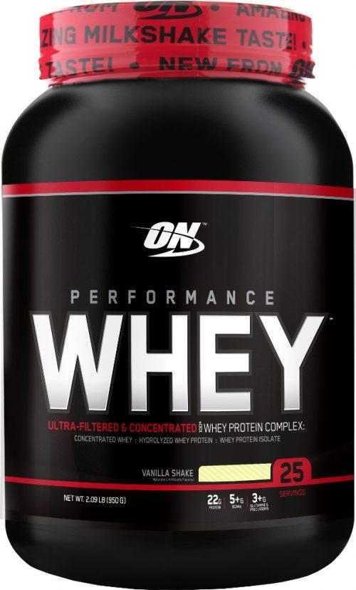 Optimum Nutrition Performance Whey - 25 Servings Vanilla Shake