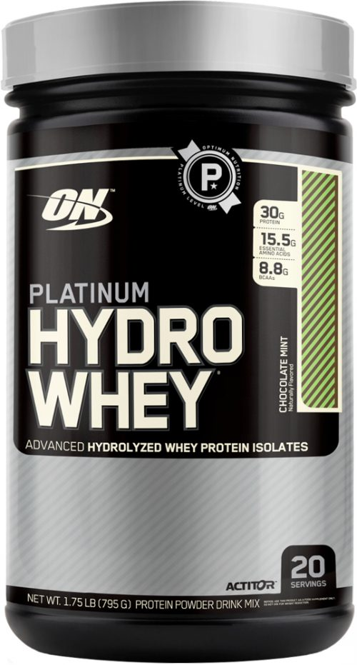 Optimum Nutrition Platinum Hydrowhey - 1.75lbs Chocolate Mint