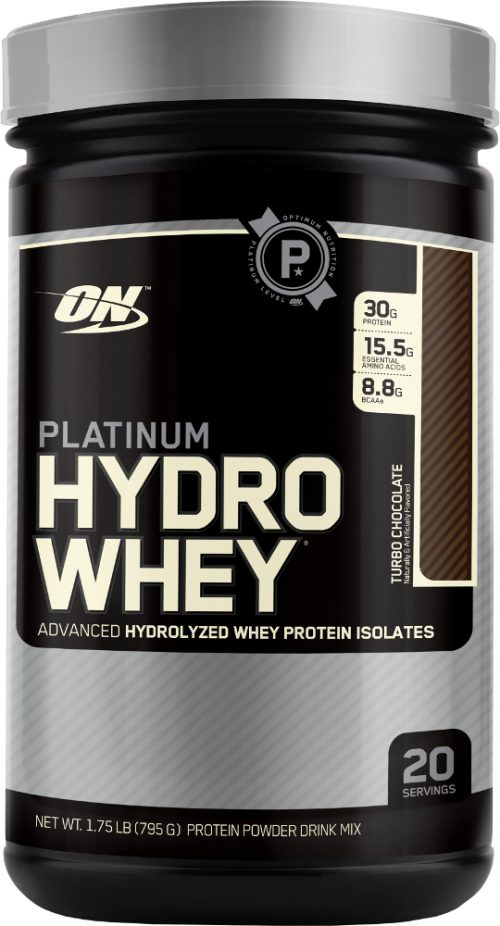 Optimum Nutrition Platinum Hydrowhey - 1.75lbs Turbo Chocolate