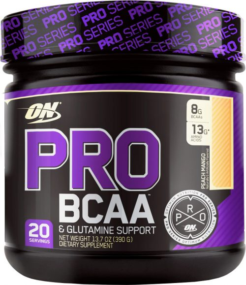 Optimum Nutrition Pro BCAA - 20 Servings Peach Mango