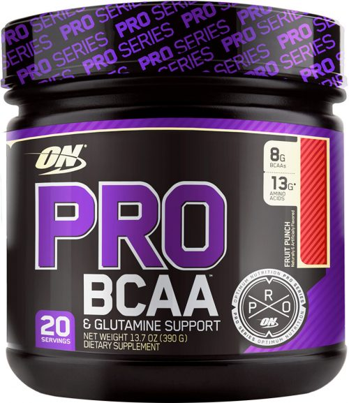 Optimum Nutrition Pro BCAA - 20 Servings Unflavored