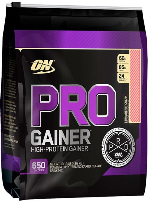 Optimum Nutrition Pro Gainer - 10.16lbs Strawberry Cream