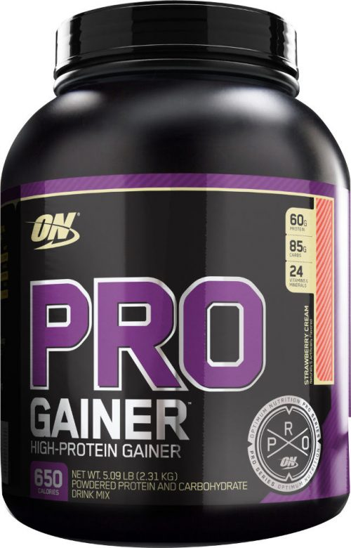 Optimum Nutrition Pro Gainer - 5.08lbs Strawberry Cream